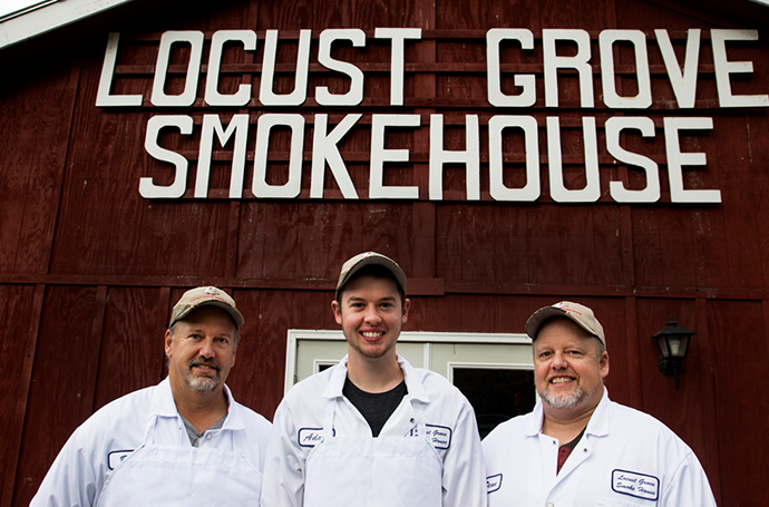 locust grove smokehouse team